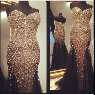 dress prom dress pageant prom dress bling-bling prom dress jovani prom dress rhinestones prom dresses crystal evening dress beaded prom dresses sparkly dress gold dress gown