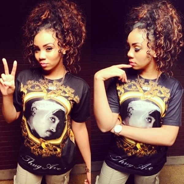 shirt tupac thug life fvkin