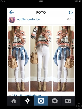 sweater style colorful crop tops