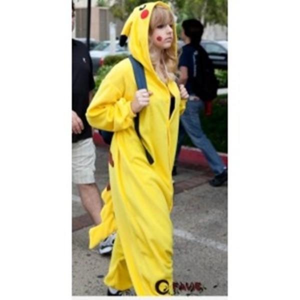 pants pokemon clothes pikachu movies sweater jacket one piece kigurumi onesie