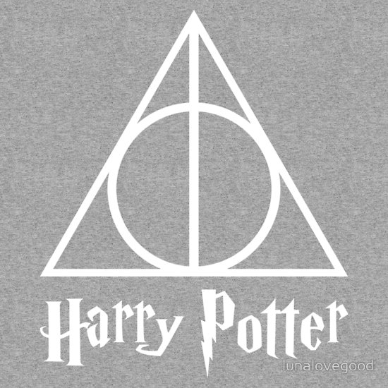 """Harry Potter & the Deathly Hallows"" T-Shirts & Hoodies by lunalovegood 