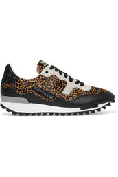 hair,sneakers,leather,print,suede,leopard print,shoes