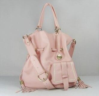 pink bag lancel