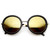 Womens Retro Glam Revo Mirrored Lens Round Fashion Sunglasses 9226