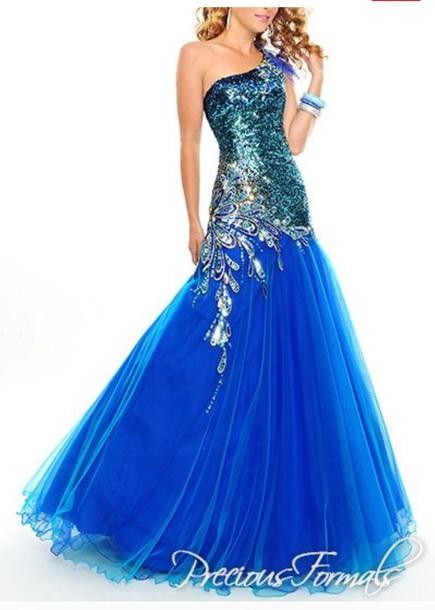 dress blue dress sparkle