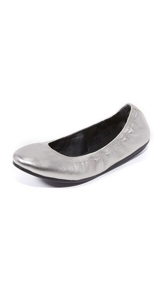 flats silver shoes