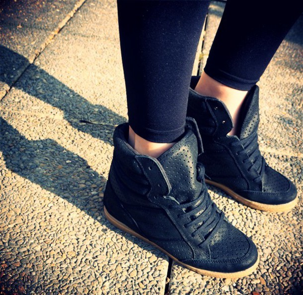 sneakers black topshop shoes