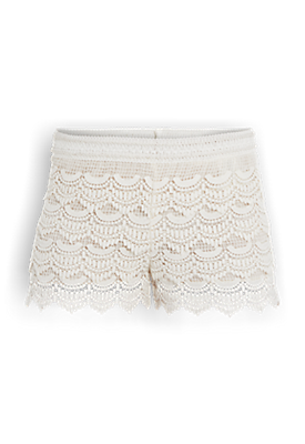 Crochet Short Offwhitewit - The Sting