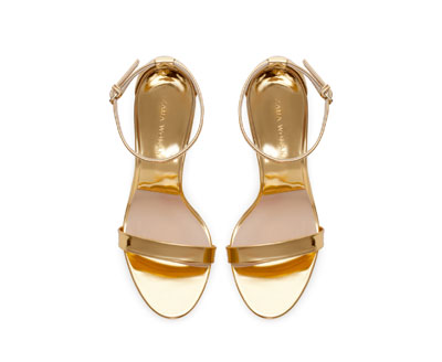 359d6755a HIGH HEEL STRAPPY SANDALS - Heeled sandals - Shoes - WOMAN | ZARA United  States