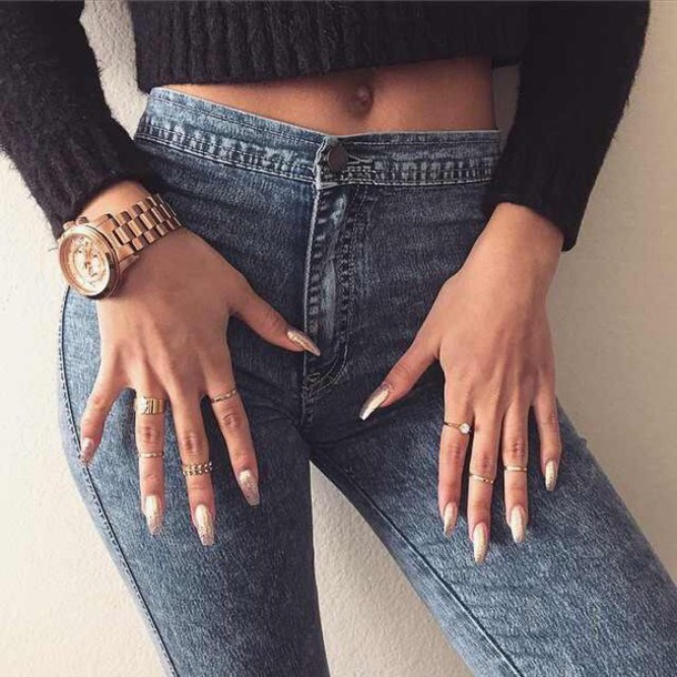 pants jeans style fashion trendy denim high waisted jeans