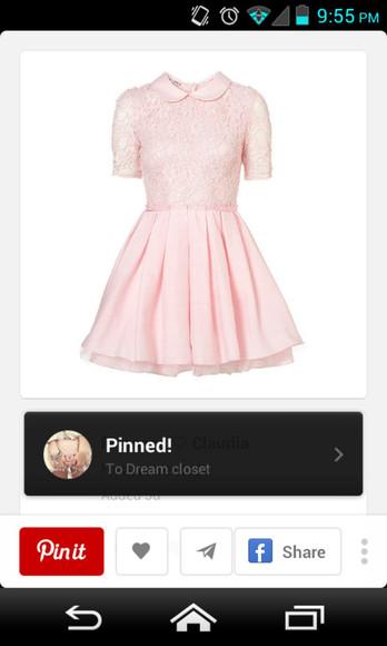pink dress cute dress girly classy dress