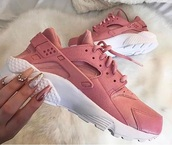 shoes,hurraches,pink