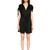Ruches & Roses Satin Sable Romper