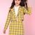 Glitters For Dinner — Made To Order - Cher Yellow Tartan Blazer & Skirt Set