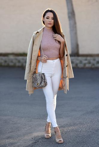 hapa time blogger coat top shoes jewels bag