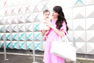the cherry blossom girl blogger dress bag romper shoes