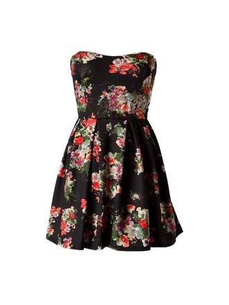 dress floral dress cute dress black dress cute black floral dress