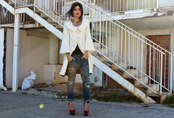 madame rosa coat pants shoes