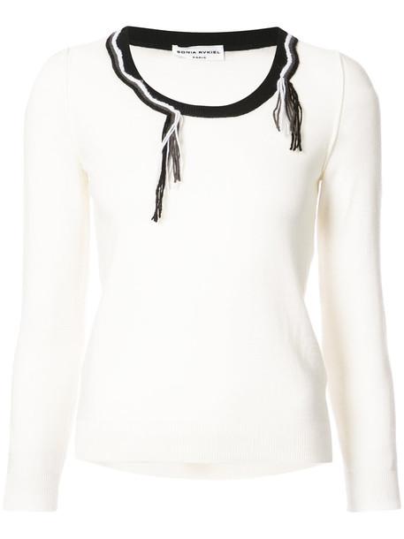 Sonia Rykiel sweater women white wool