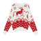 Reindeer christmas sweater - knit - clothing - woman - pull&bear united kingdom
