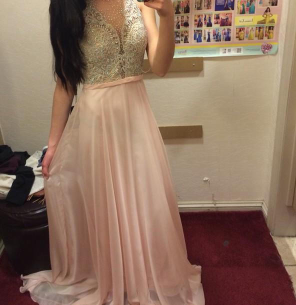 dress prom dress pink dress white dress