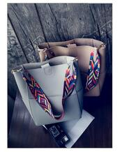 bag,leather,shoulder,boho,gypsy,sexy,embroidered,straps,grey,handbag