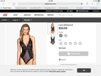 jumpsuit bodysuit lace black leotard dress fancy prom sleep lingerie sleepwear
