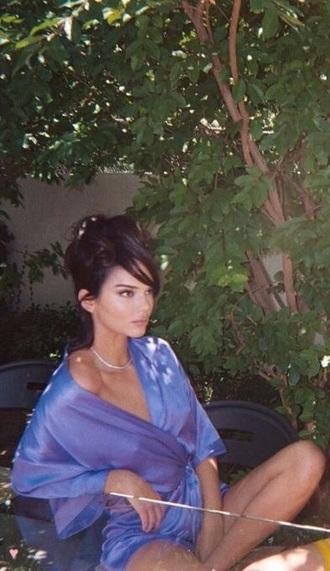 romper purple purple dress long sleeves long silk silk dress v neck plunge v neck short short shorts summer summer outfits spring blue light blue sky blue levander