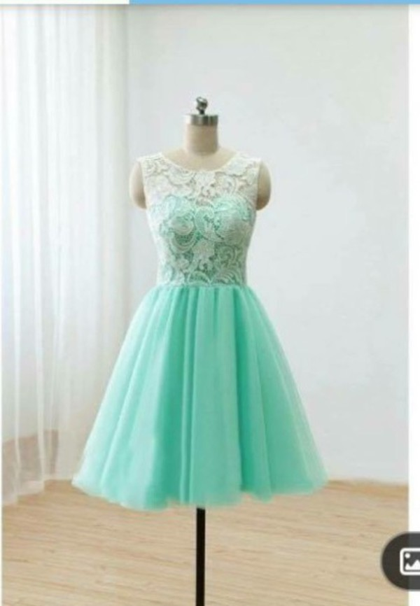Jewel Collar Homecoming Dresses Appliques 2016 Piping Pleat Lace