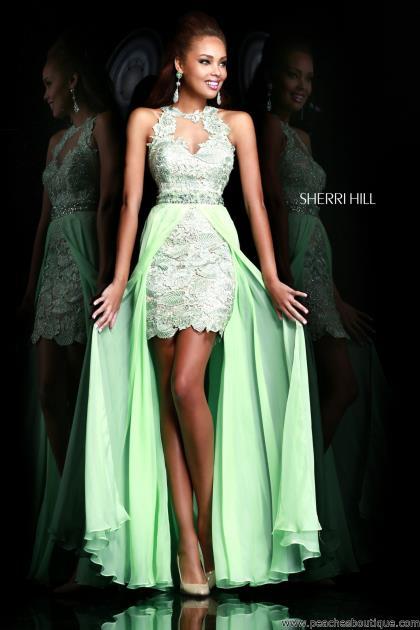 Sherri Hill Prom Dress 9713 at Peaches Boutique