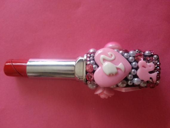 Refill gas lipstick lighter decoden crystalized by Girlstuff2013