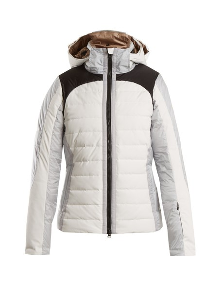 jacket quilted white