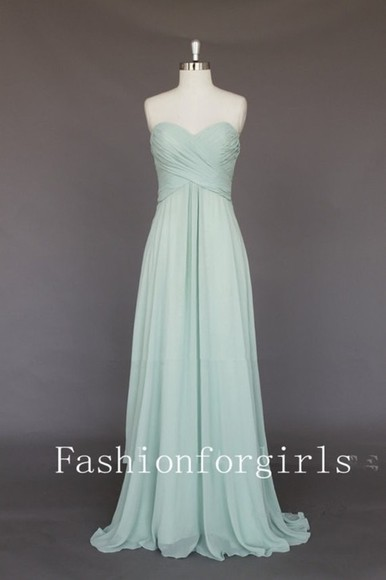 dress long prom pastel blue dress