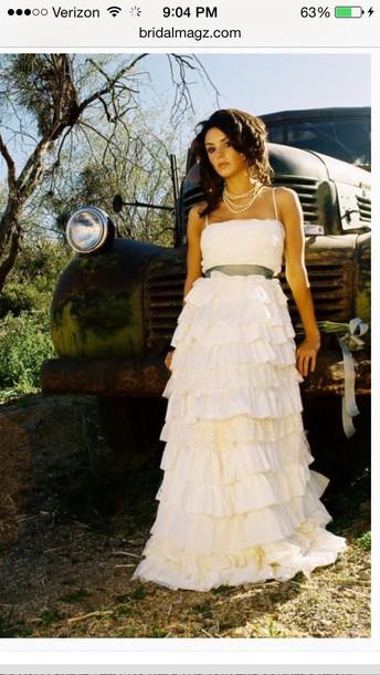 dress rustic wedding dress