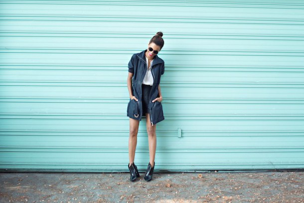 style me grasie blogger top jacket shoes make-up
