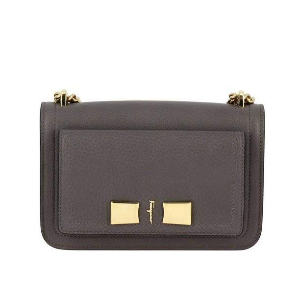 Salvatore Ferragamo women bag shoulder bag grey