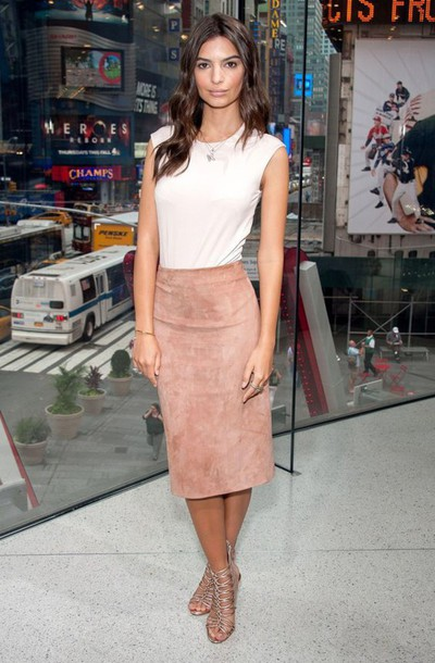 218a228f4 skirt, pink suede skirt, suede skirt, pink skirt, midi skirt, pencil ...