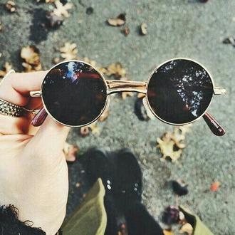 sunglasses rund hipster retro round sunglasses