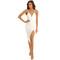 Mystique midi dress in white – noodz boutique