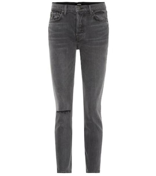 Grlfrnd Karolina high-rise skinny jeans in black