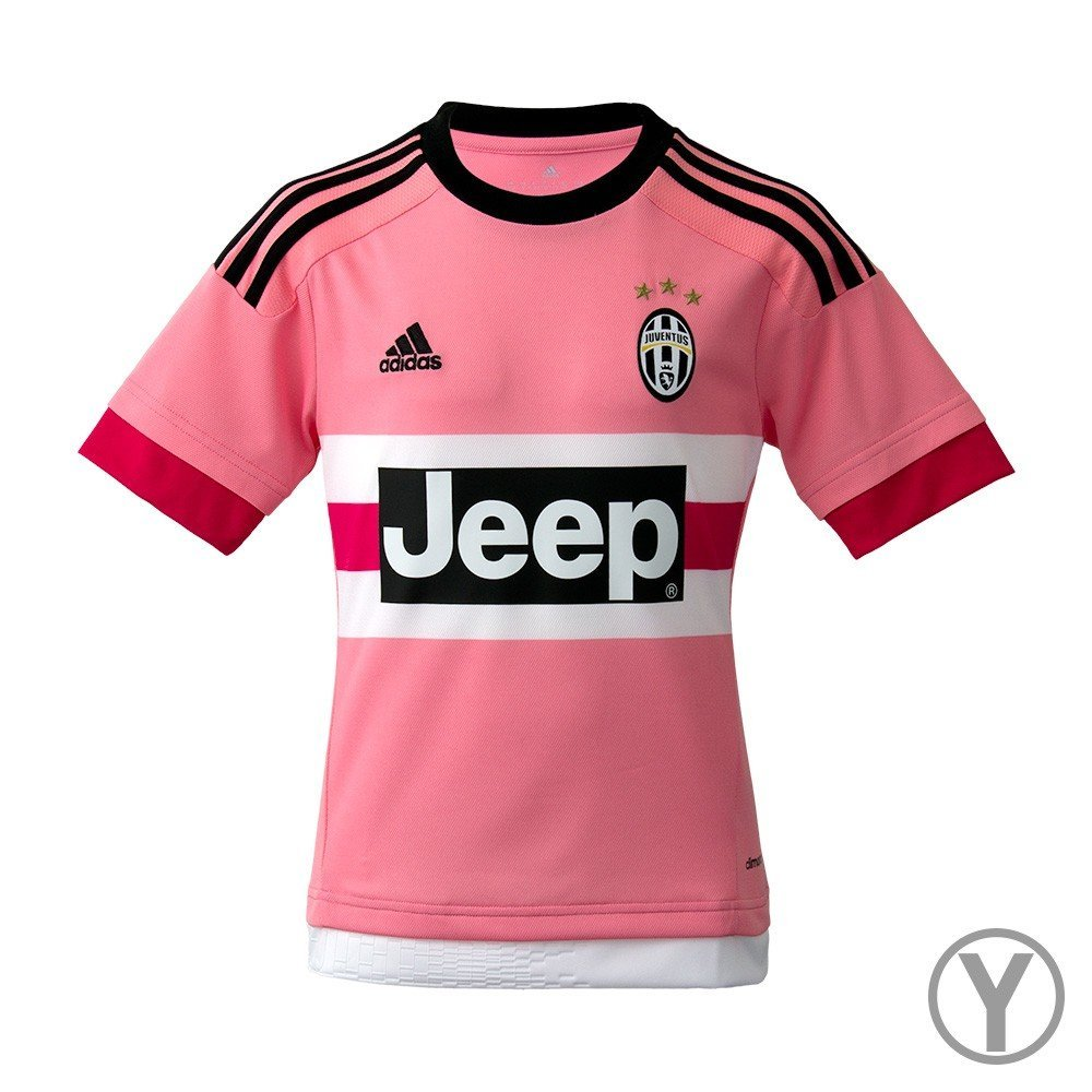 new concept ad261 68eb1 Amazon.com : Adidas Juventus Away Youth Jersey-PINK : Sports & Outdoors