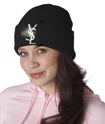 Unisex ysl acrylic beanie hat
