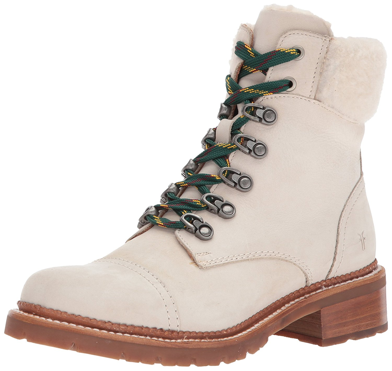 Amazon.com | FRYE Women's Samantha Hiker Combat Boot | Ankle & Bootie