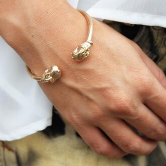 super skull bangle jewels