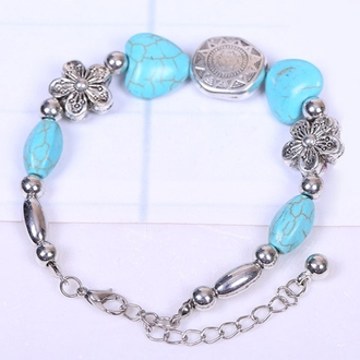jewels bracelets jewelry boho jewelry boho trendy style accessories zaful blue friends gift ideas