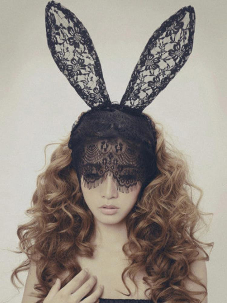 Lace Rabbit Ears Headband | Choies