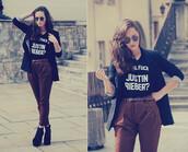 t-shirt,new,look,blouse,blogger,lookbook,pants,shirt