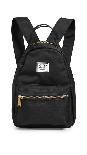 Herschel Supply Co. Herschel Supply Co. Flight Satin Nova Mini Backpack in black