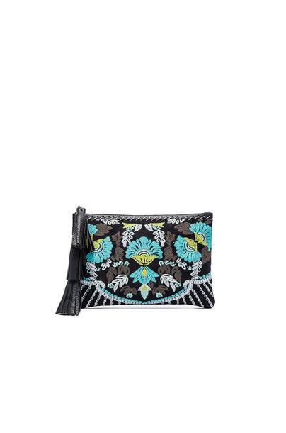 Cleobella Tuscan Clutch in turquoise