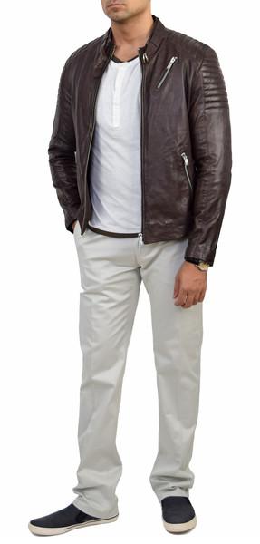 Soia & kyo jack coco biker leather jacket